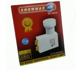 SHOWMAX 0.3dB Quad LNB