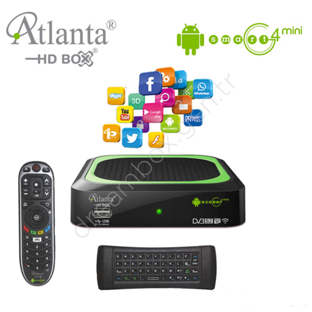 Atlanta G4 Mini Full Set + 6 Ay CCcam + 6 Ay İPTV